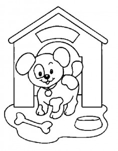 desenhos caes cachorrinhos colorir imprimir (4)