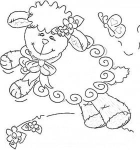 desenhos ovelhinhas colorir atividades escolares criancas (4)