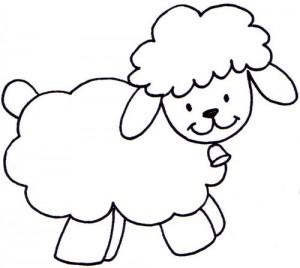 desenhos ovelhinhas colorir atividades escolares criancas (5)