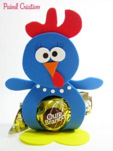 lembrancinha galinha pintadinha porta bombom eva festa aniversario crianca (8)