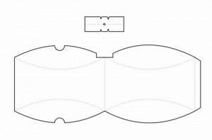 moldes caixinha papel lembrancinha presentes bombom casamento aniversario batizado (4)