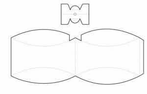 moldes caixinha papel lembrancinha presentes bombom casamento aniversario batizado (6)