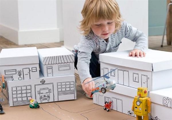 reciclagem caixa de sapato brinquedo crianca (2)
