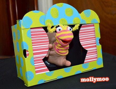 reciclagem caixa de sapato brinquedo fantoche crianca (3)