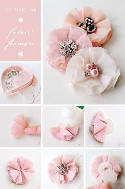 como fazer tiara cabelo tecido menina bebe (1)