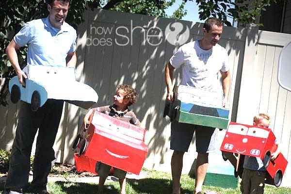 reciclagem carrinho papelao criancas brinquedo (1)