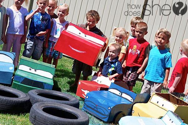 reciclagem carrinho papelao criancas brinquedo (2)