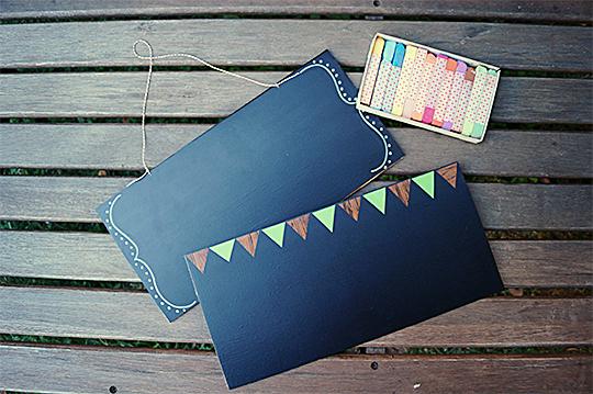 como fazer lousinha quadro negro papael contact adesivo crianca brincadeira escolinha em casa (4)