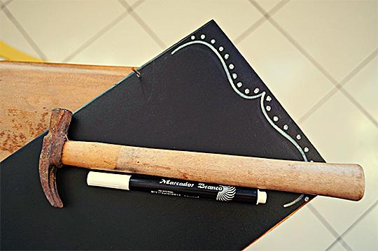 como fazer lousinha quadro negro papael contact adesivo crianca brincadeira escolinha em casa (6)