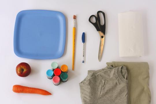Como fazer Ecobag estampada  carimbo de frutas e legumes (11)