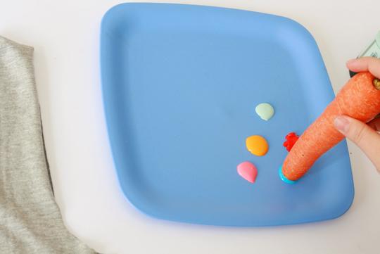 Como fazer Ecobag estampada  carimbo de frutas e legumes (6)