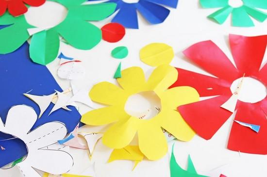 como fazer adesivos parede flores decoracao quarto (3)
