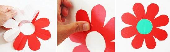 como fazer adesivos parede flores decoracao quarto (4)