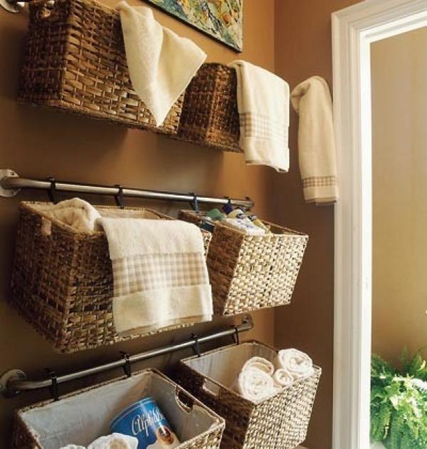 11 dicas truques organizar casa cestos pendurados aproveitar espaco  (5)