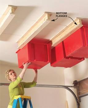 11 dicas truques organizar casa trilhos madeira organizar caixas teto  (7)