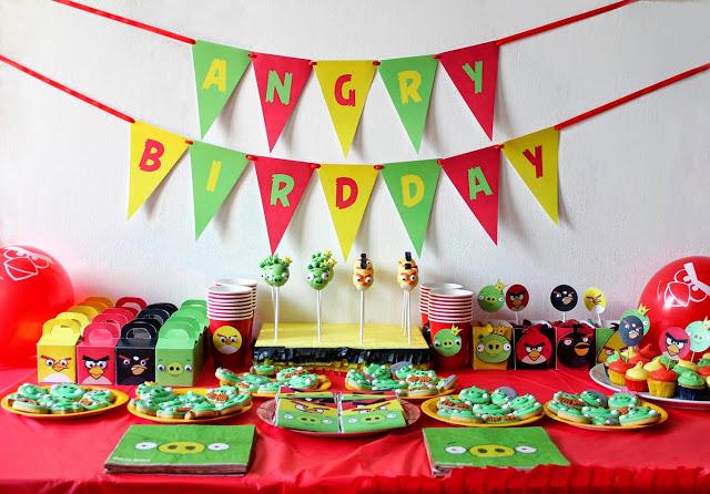 Ideias para Festa Infantil com o Tema Angry Birds (1)
