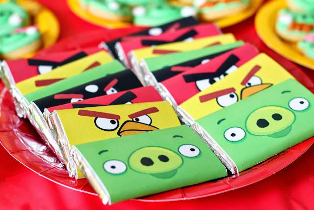 Ideias para Festa Infantil com o Tema Angry Birds (2)