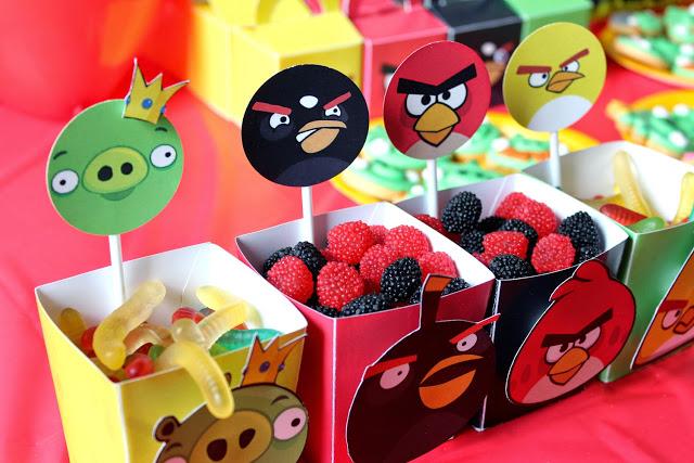 Ideias para Festa Infantil com o Tema Angry Birds (5)