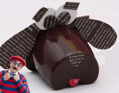 brinquedo reciclado embalagem iogurte cachorrinho