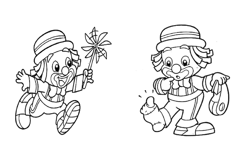 desenhos colorir patati patata palhaco festa aniversario lembrancinhas infantil convites (1)