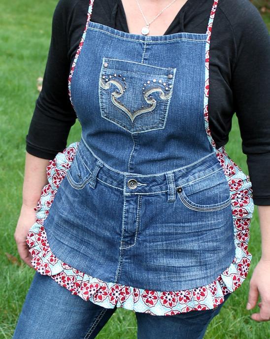 passo passo avental calca jeans reciclagem (8)