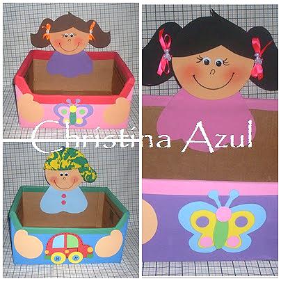 caixa papelao decorada EVA sala de aula guardar brinquedos cantinho leitura alfabetizacao escola (4)