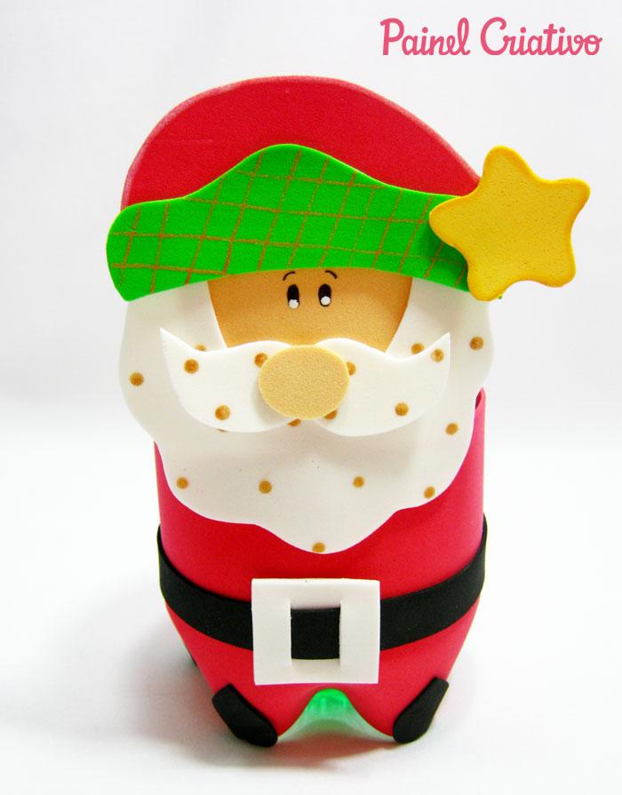 como-fazer-lembrancinha-porta-guloseima-papai-noel-garrafa-pet-natal-reciclagem-4