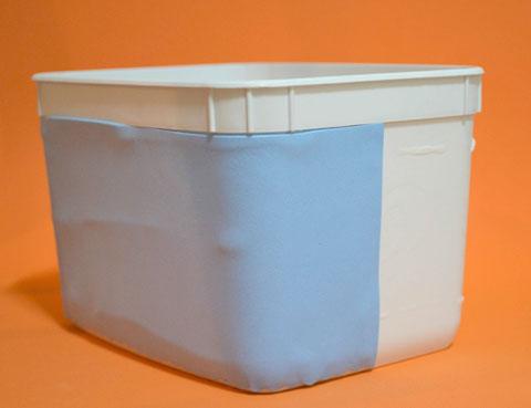 como fazer porta trecos corujinha EVA pote sorvete artesanato (3)