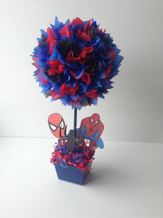 10 ideias decoracao festa aniversario homem aranha bolo lembrancinha enfeites criancas 2