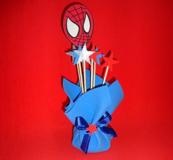10 ideias decoracao festa aniversario homem aranha bolo lembrancinha enfeites criancas 3