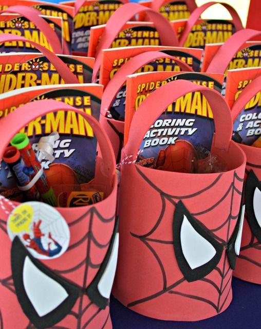 10 ideias decoracao festa aniversario homem aranha bolo lembrancinha enfeites criancas 5