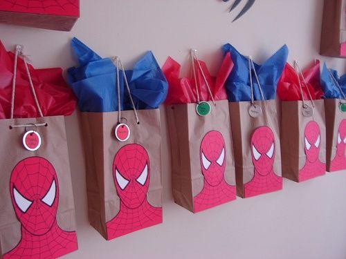 10 ideias decoracao festa aniversario homem aranha bolo lembrancinha enfeites criancas 7