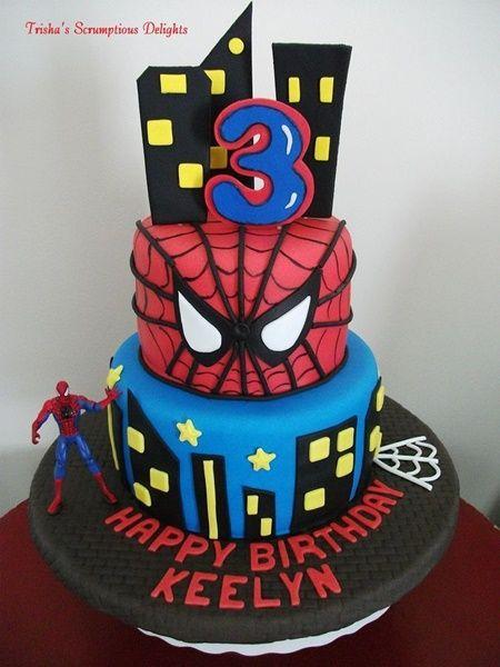 10 ideias decoracao festa aniversario homem aranha bolo lembrancinha enfeites criancas 9