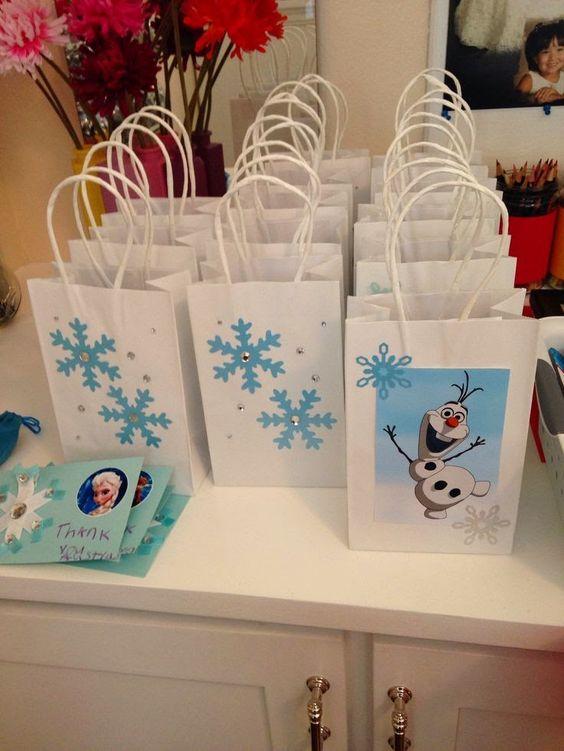 10 ideias decoracao festa aniversario lembrancinha frozen princesa elsa 5