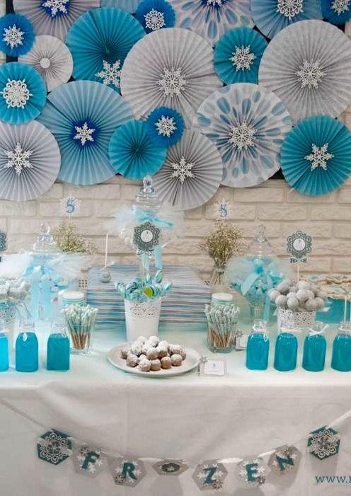 10 ideias decoracao festa aniversario lembrancinha frozen princesa elsa 9