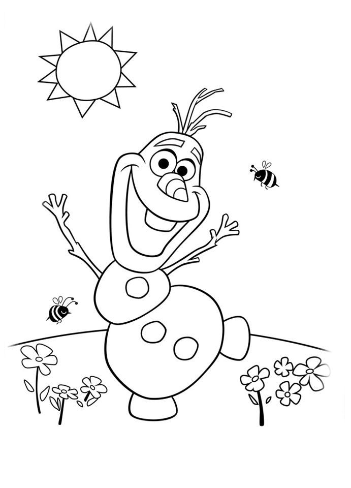 8 desenhos imprimir colorir frozen pricensa elsa anna olaf 9