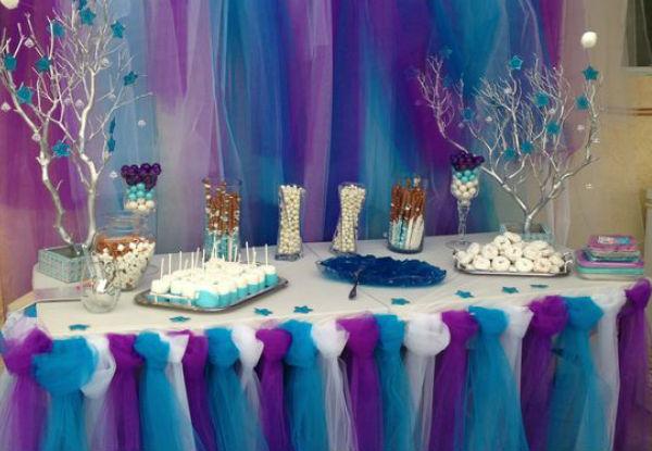 10 ideias festa aniversario menina frozen princesa elsa olaf ideias decoracao mesa doces lembrancinhas (1)