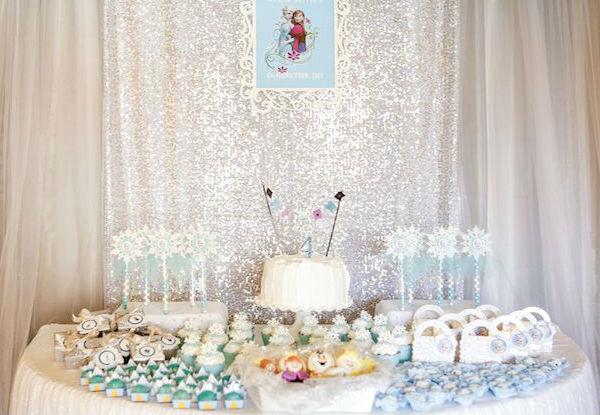 10 ideias festa aniversario menina frozen princesa elsa olaf ideias decoracao mesa doces lembrancinhas (4)