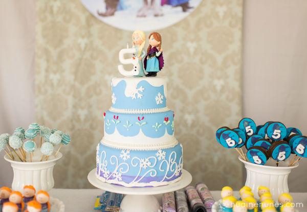 10 ideias festa aniversario menina frozen princesa elsa olaf ideias decoracao mesa doces lembrancinhas (6)