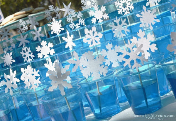 10 ideias festa aniversario menina frozen princesa elsa olaf ideias decoracao mesa doces lembrancinhas (9)