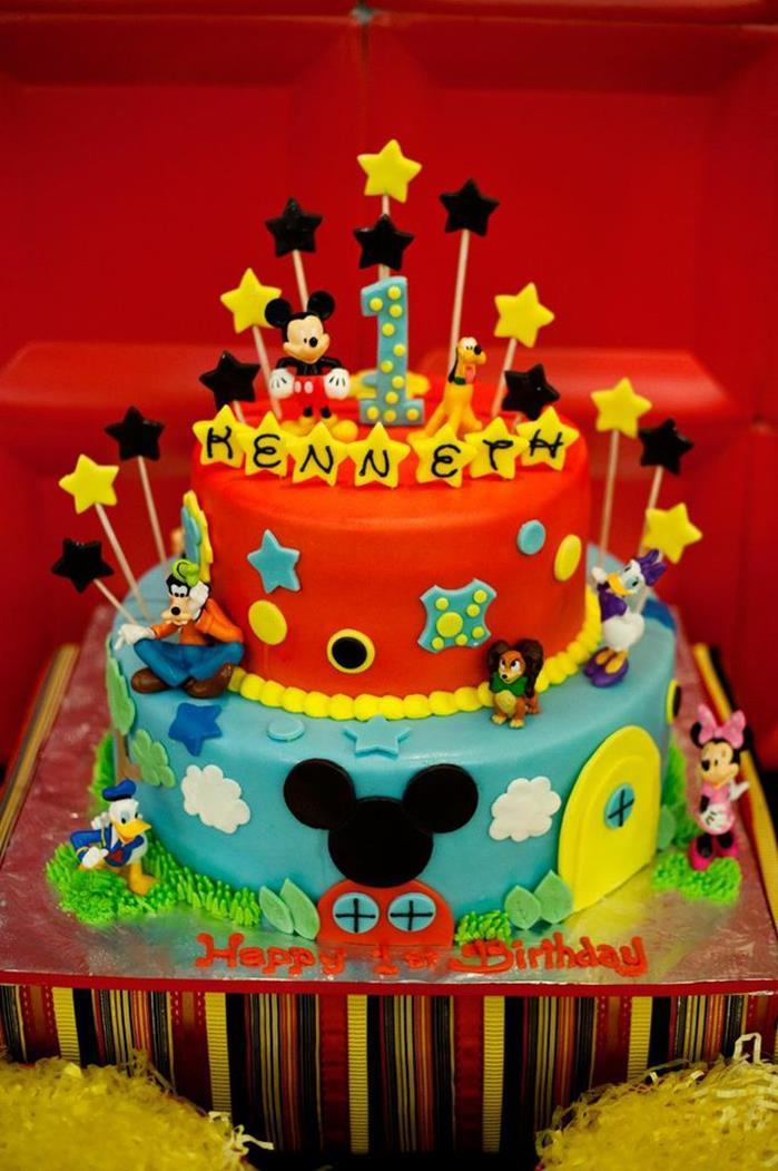 6 ideias criativas festa aniversario mickey decoracao mesa doces bolo lembrancinha criancas (2)