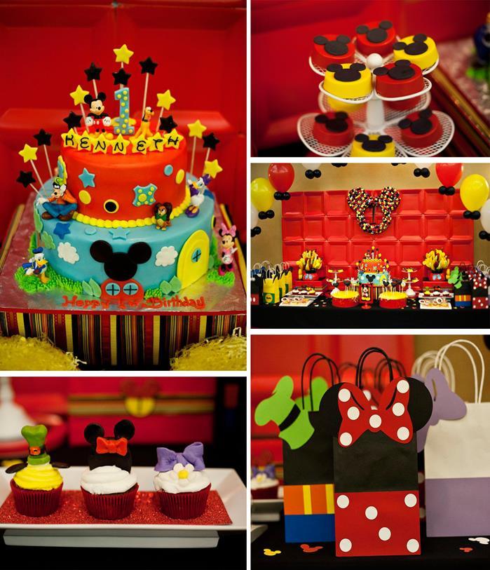 6 ideias criativas festa aniversario mickey decoracao mesa doces bolo lembrancinha criancas (4)