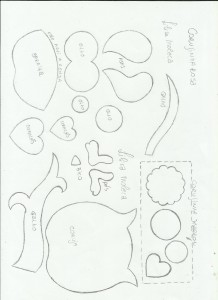 capa caderno corujinha eva molde menina agenda escola (2)