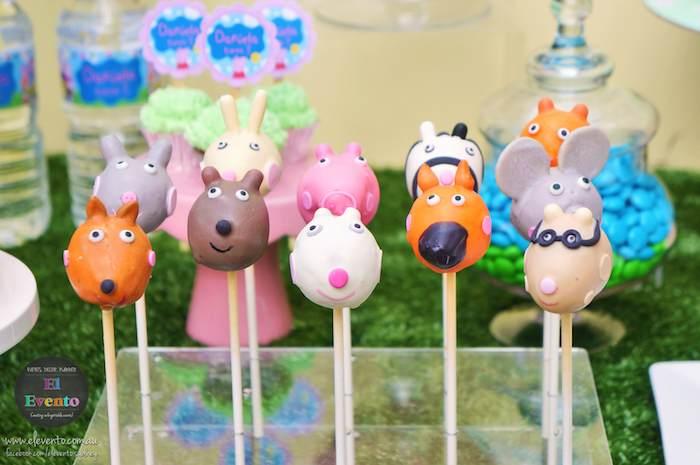 ideia festa aniversario infantil peppa pic criancas mesa de doces bolos  (5)