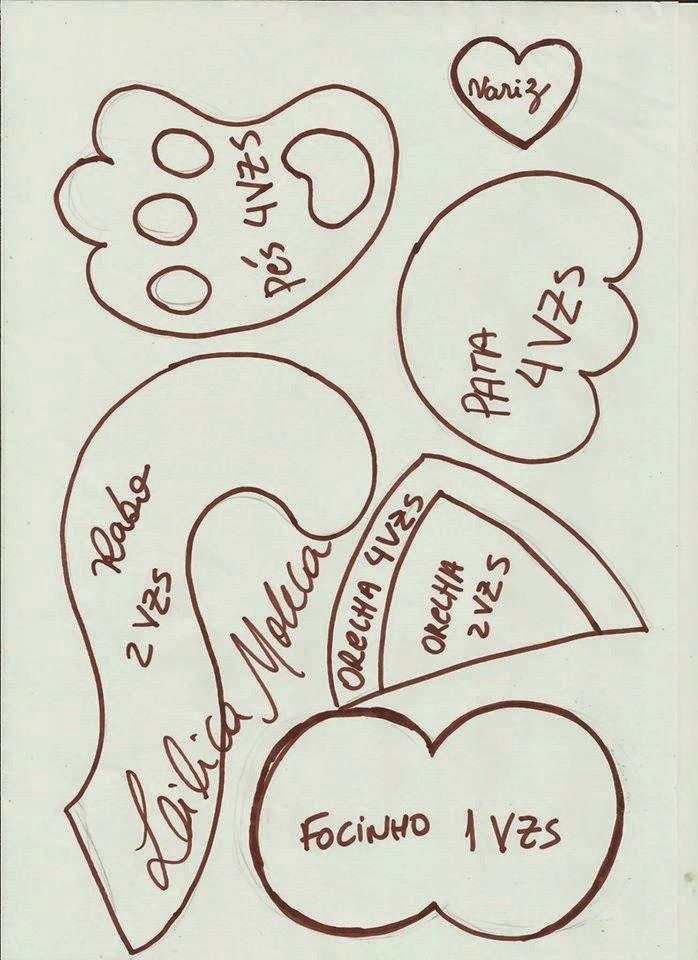 molde gatinho com molde EVA capa de caderno painel escolar lembrancinhas (2)