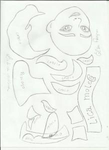 moldes capa de caderno EVA princesa Elsa Frozen meninas escola artesanato 1