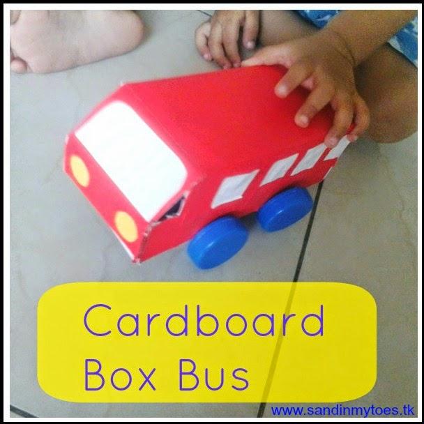 passo a passo brinquedo reciclado carrinho onibua caixa papelao criancas atividade escolar (1)