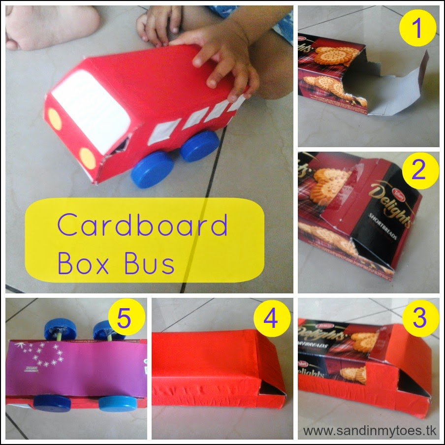passo a passo brinquedo reciclado carrinho onibua caixa papelao criancas atividade escolar (2)