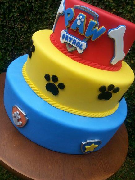 10 ideias festa aniversario patrulha canina menino decoracao mesa doces lembrancinha 5