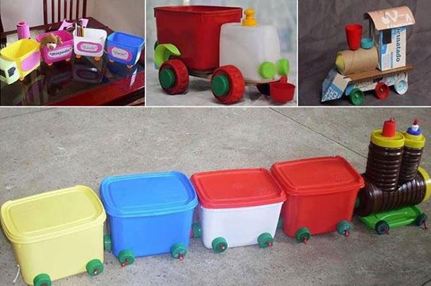 12 ideias brinquedo reciclado criancas escola faca voce mesmo em casa reciclagem 3